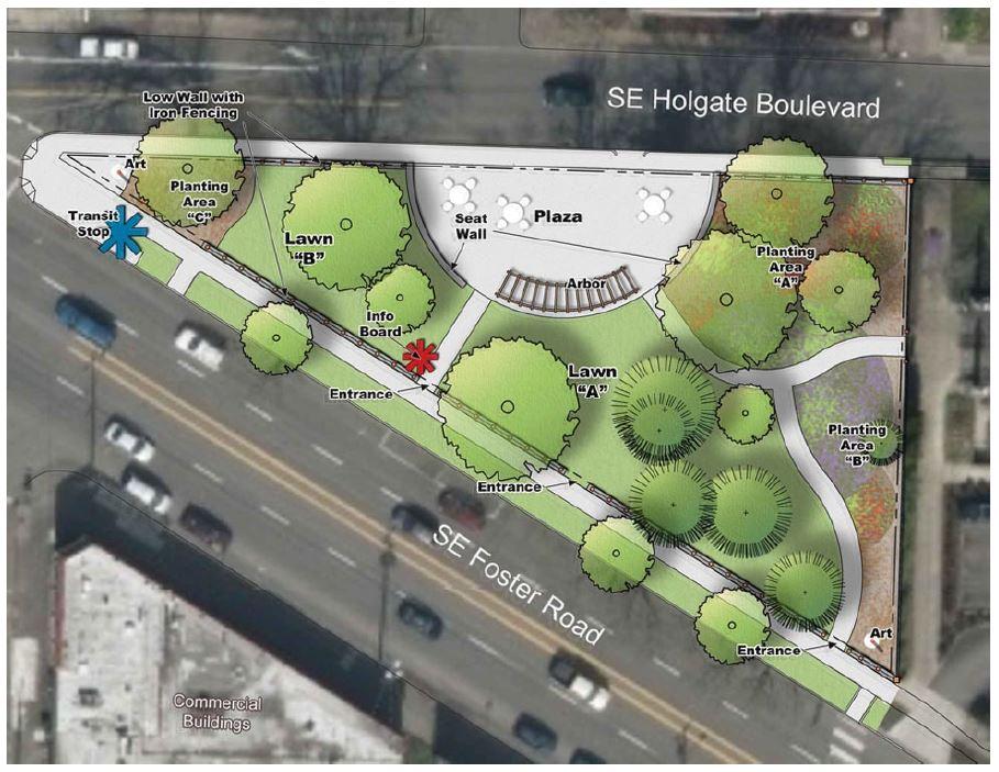 Laurelwood Park Proposed Design