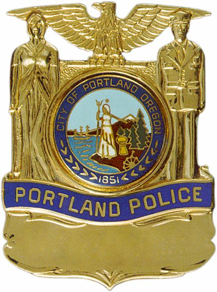 Portland Police Badge