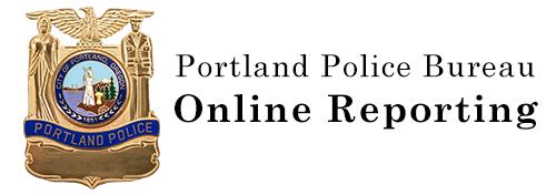 Portland Police Bureau: Online Reporting