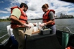 Water Quality Sampling on the Willamette River