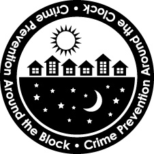 Crime Prevention Around the Clock Logo