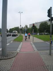 Dresden cycle track