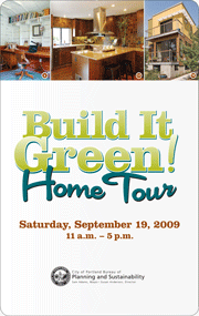 Buy tickets for the Build It Green! Home Tour 2009