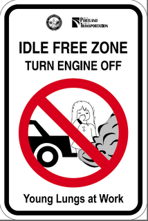 idling sign