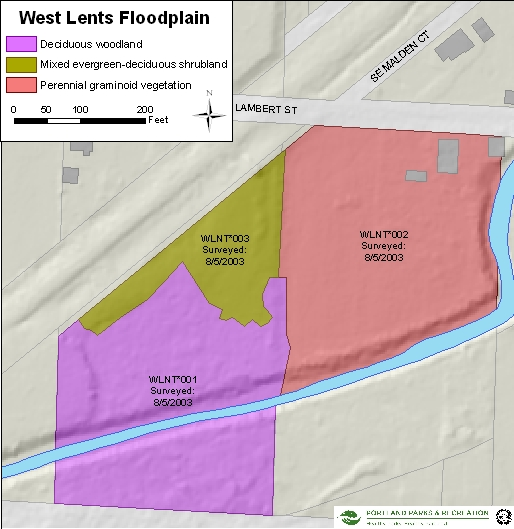 West Lents Floodplain