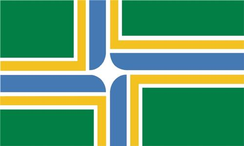 City of Portland Flag