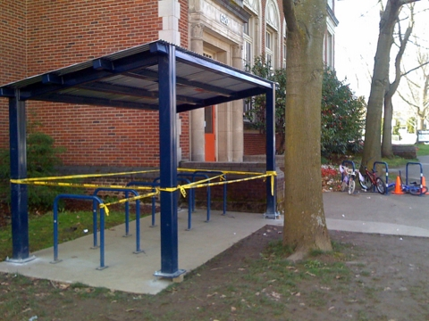 photo of Bike Shelter at Boise Eliot