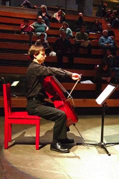 CMC Director Gregory Dubay is also an accomplished cellist.