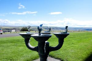 The Benson Bubbler at the Maryhill Museum of Art has the best view of them all!