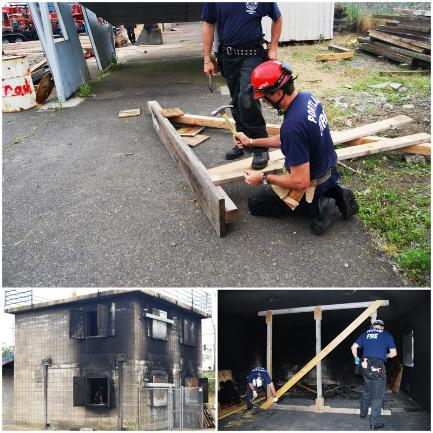 Station 1 Conducts Urban Search and Rescue Training | Fire Blog