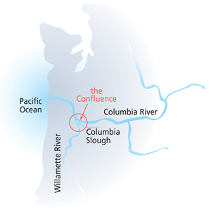 confluence project map