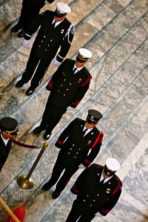Firefighters Marching At Capitol >> Pf R S Honor Guard Help Honor Washington Firefighters Past And