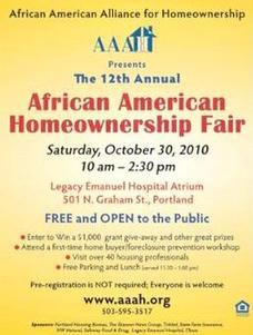 African American Alliance for Homeownership