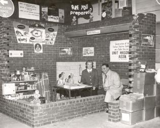 1960 Civil Defense exhibit