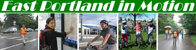 East Portland in Motion - a five year implementation strategy for active transportation