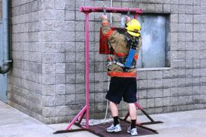 Firefighters Begin Mandatory Physical Fitness Testing