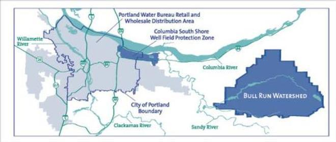 Portland sells water to regional communities