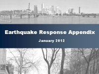 Earthquake Response Appendix