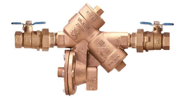 Reduced Pressure Backflow Assembly