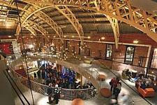 Armory Interior image credit: Uwe Schneider. Built 1891; LEED Gold restoration 2006.