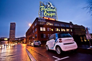 Car2go Launches In Portland News The City Of Portland Oregon