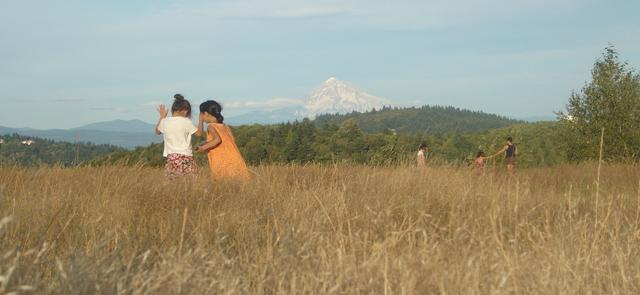 View of Mt Hood from Powell Butte summer concerts