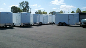 Red Cross Trailers
