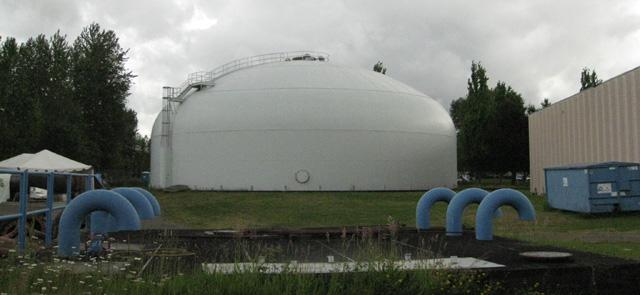 A groundwater facility in the Columbia South Shore Well Field.