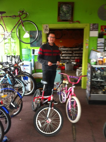 Meticon Bike Shop donates two bikes