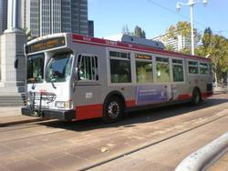 Picture of MUNI bus