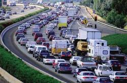 Image of gridlocked freeway