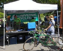 Universal Cycles Booth