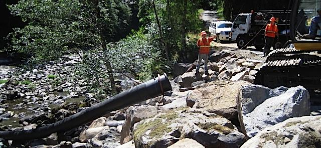 Walker Creek culvert replacement