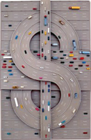 Highway made of money