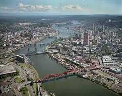 City of Portland aerial photo