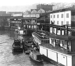 historic Portland waterfront photo