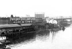 old waterfront photo