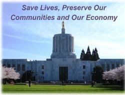 Picture of the Oregon State Capitol building.