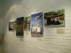 Display of stormwater management photos
