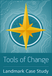 Landmark Tools of Change logo