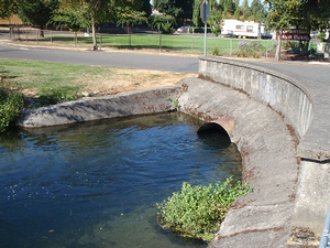 photo of SE Glenwood culvert