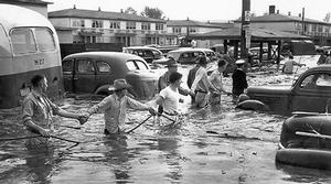 Vanport Residents in 1948 Flood