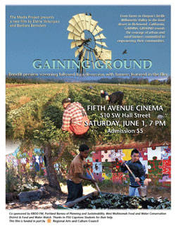 film poster for Gaining Ground