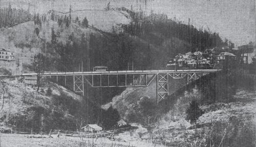 1904 Rendering of proposed bridge
