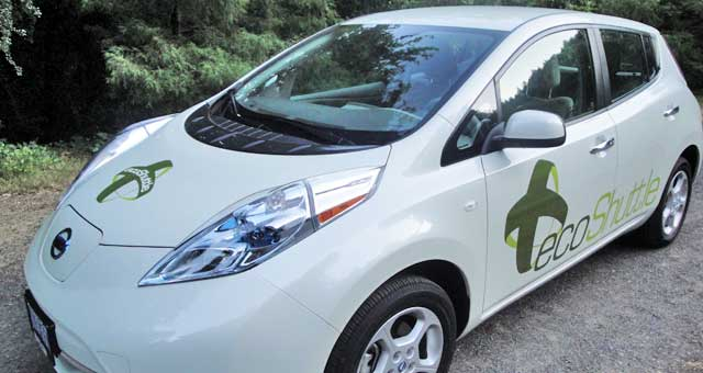 ecoShuttle electric car