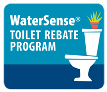 Toilet rebate icon