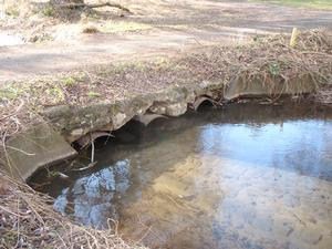 old Eastmoreland Golf Course culvert