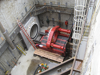 Balch Conduit tunneling machine