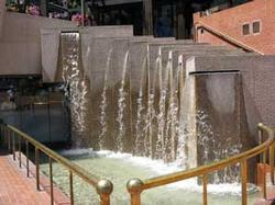 Pioneer Courthouse Square Waterfall