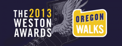 Oregon Walks' Weston Awards logo